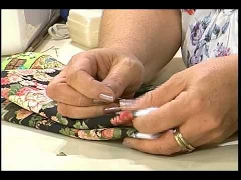 Pegador de Panela - Rag Quilt   Artesanato SABOR DE VIDA - YouTube