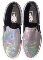 Vans - Matte Iridescent Classic Slip-on Holographic Athletic Shoes on Sale, 47% Off | Athletic on Sale