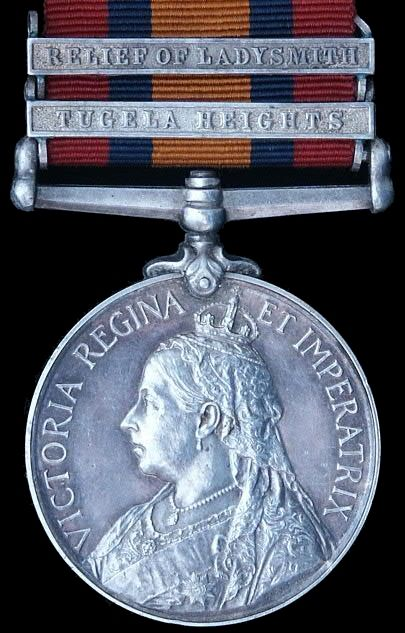 queen's south africa medal obverse - Medal that my Great Grandfather was awarded during the Boer War. 1901