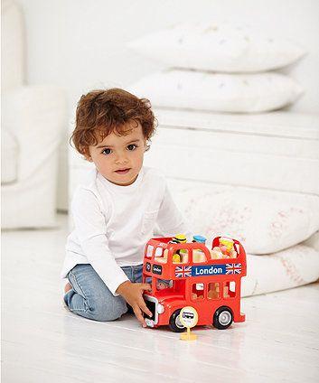 Happyland London Bus Set - Mothercare / ELC - £17.60 sale
