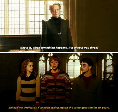"""All of his interactions with McGonagall were pretty perfect, tbh.   19 Times Ron Weasley Was Actually The Best Character In """"Harry Potter"""""""