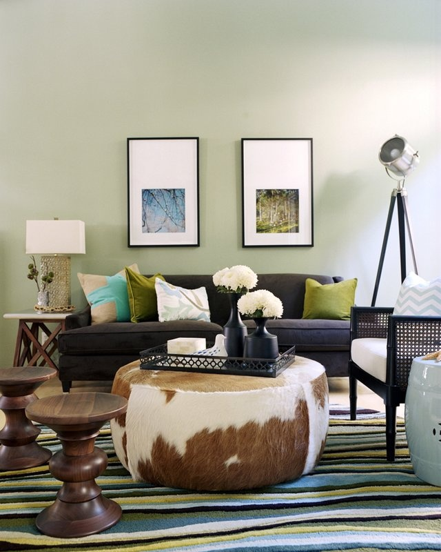 Designers Offer Tips To Maximize Seating For Entertaining Green Living RoomsLiving Room IdeasIvory