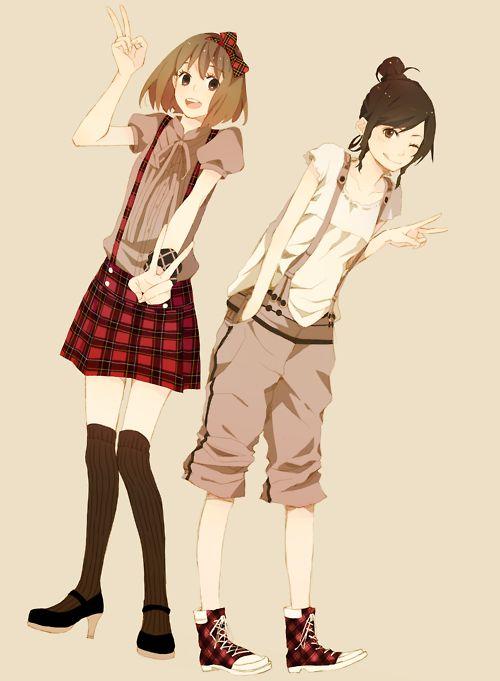 anime girl outfits