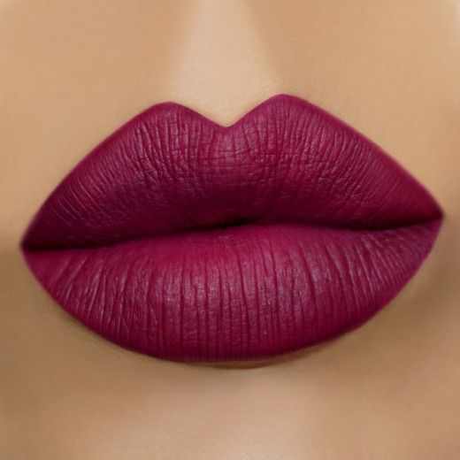 Liquid Lipstick || Hydra-Matte Swatch- Wine Down
