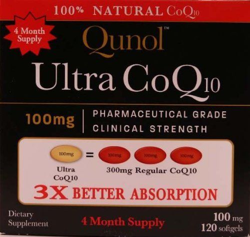 [gallery] QunolTM Ultra CoQ10 - Powerful Antioxidant Protection QunolTM Ultra CoQ10 is a powerful antioxidant that fights free radicals. An absolutely water and fat soluble formulation, Qunol Ultra absorbs fast so you'll enjoy CoQ10's health benefits quickly and of course.…