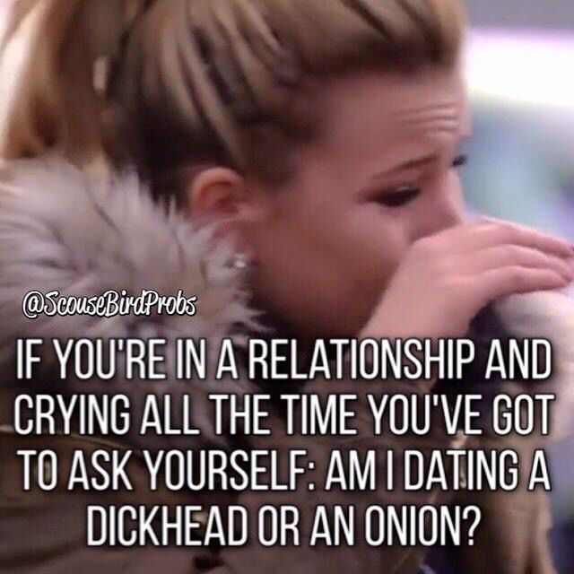 Dating a Dick Head
