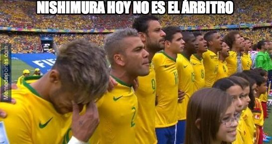 Meme de México vs Brasil