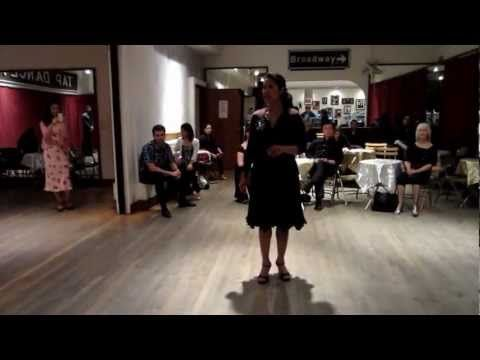 Tango Lesson: Introduction to The Close-Embrace Turning Leg-Wrap