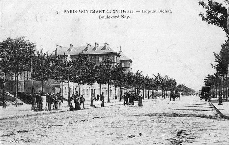 boulevard Ney - Paris 18e vers 1900