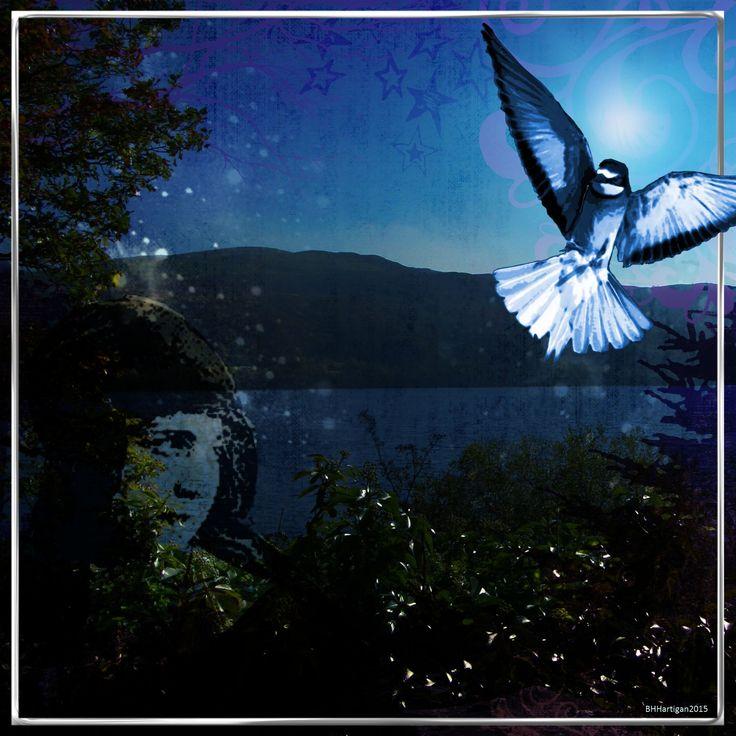 Based on my photograph of Bala Lake.