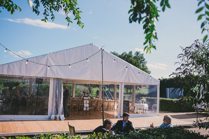 outdoor timber dance floor, festoon lighting, marquee wedding, white roof, clear walls, south coast weddings, south coast party hire