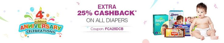 #Today Best Deal #Baby Diapers  Rs. 100 OFF on Rs.250, #Baby & Kids #Products Buy 1 Get 1 Free & More Deals From Mytokri.com
