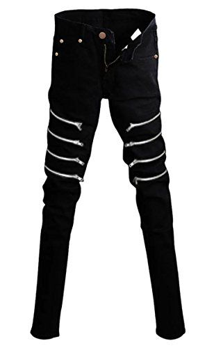 26c3beff225 New Betusline Mens Fashion Rock Gothic Punk Revits Jeans Pants Trousers  Chain Mens Fashion Clothing.   24.99 - 62.48  from top store  yourfavoriteclothing