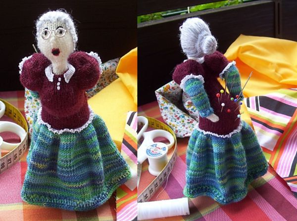 Just TOO funny....granny pincushion