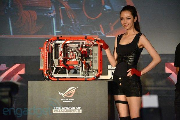 Asus ROG giới thiệu PC chơi game chuyên dụng Poseidon Formula One với hệ thống làm mát kép