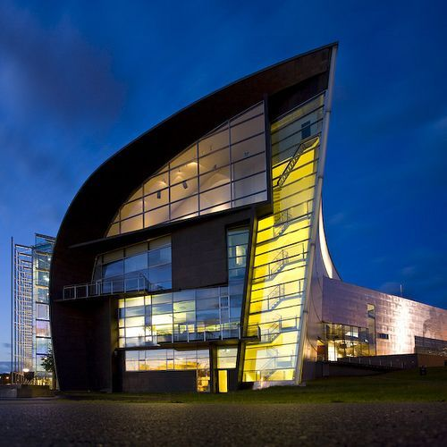 Kiasma is a contemporary art museum located on Mannerheimintie in Helsinki, Finland. Its name kiasma, Finnish for chiasma, alludes to the basic conceptual idea of its architect, Steven Holl.