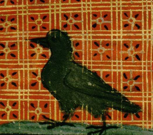 Le corbeau (Le corbel)
