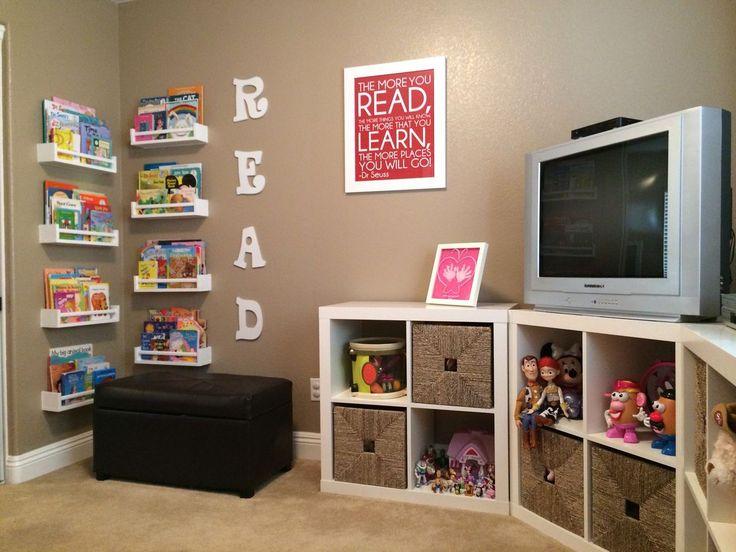 Kids Playroom Ideas Organization Cubbies