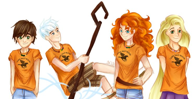 OXYGEN MAGNESIUM WHY ISN'T THIS REAL!?!?!?!! Hiccup is a son of Hephaestus. Jack, son of Poseidon. Merida: daughter of Apollo. And Rapunzel is the daughter of...Zeus, maybe? I don't know.