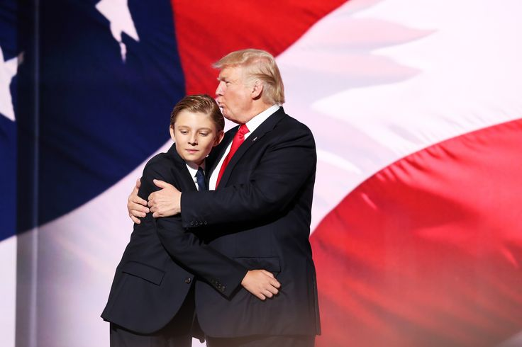 Why Is Barron Trump Named Barron? His Dad's Kind Of Obsessed With The Name