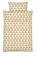Dotty yellow junior sengetøj fra Ferm living