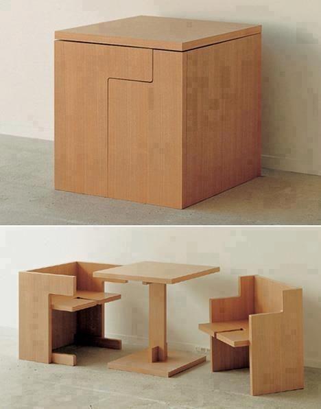 Cube Oui.... Non.... Ceci est assez cool...... Enfin de compte un super petit meuble
