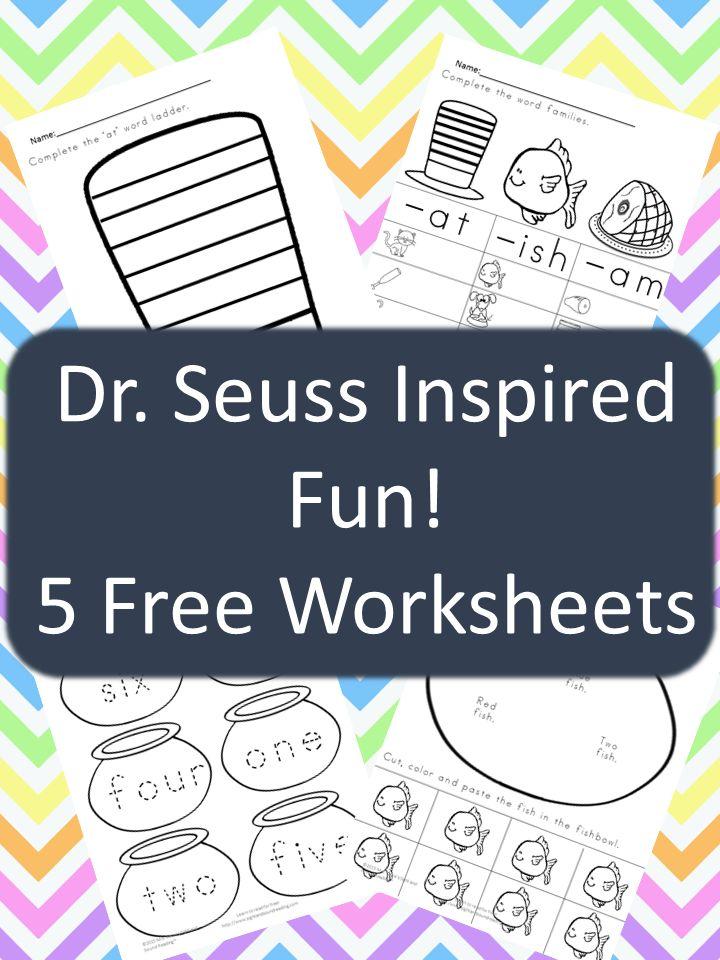 17 Best Images About Preschool Dr Seuss On Pinterest