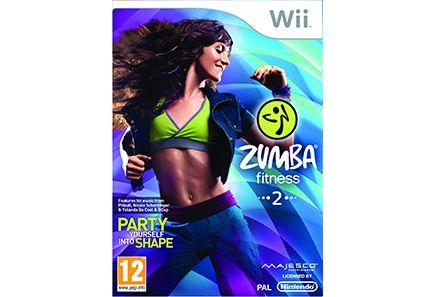€24.95 Zumba Fitness 2 Wii