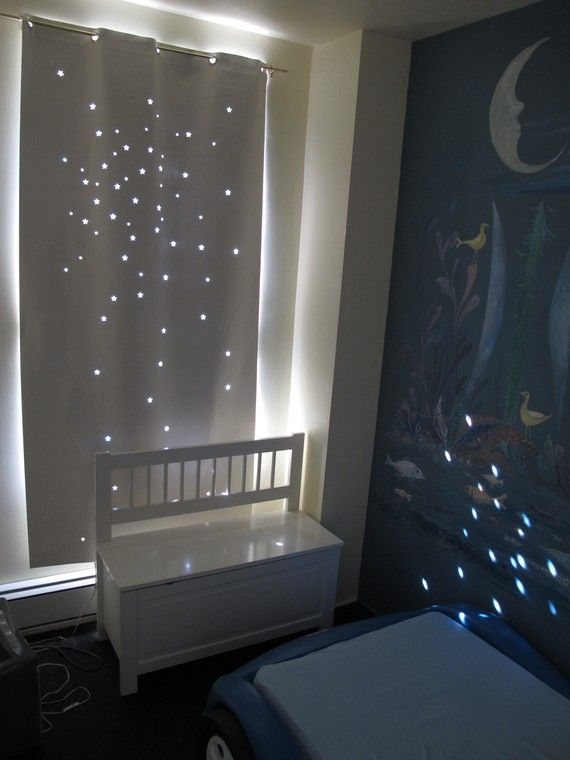 A Twinkle Curtain!