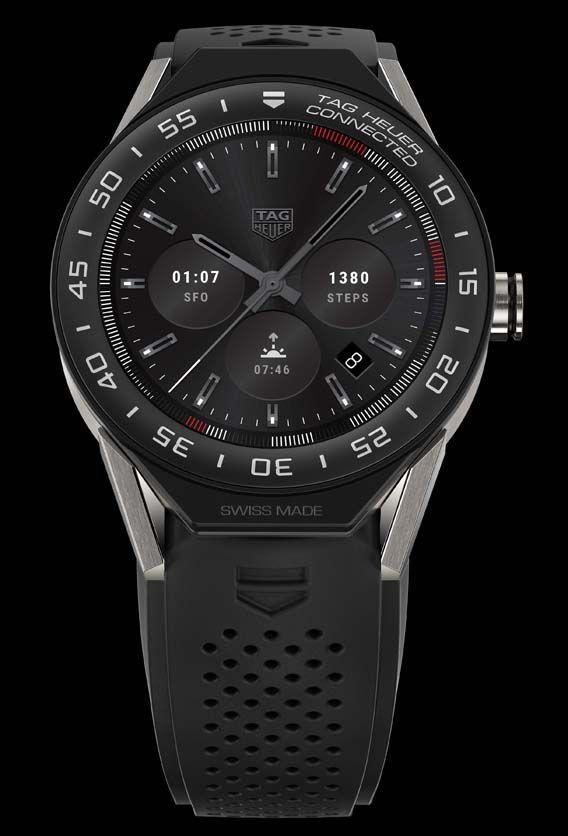 La Cote des Montres : La montre TAG Heuer Connected Modular 45 - La tradition suisse connectée au futur