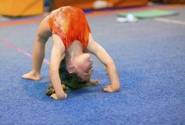 Gymnastics lessons help children develop physical coordination and motor skills. They teach children how to properly use their balance and develop a good sense of precision and timing. Gymnastic lessons can teach your child listening skills, how to follow directions, how to take turns, respect for others, and how to participate in a group.