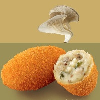 I lived on these in college in A'dam, and I weighted only 90 lbs then!  TerraBites: MVO-kroket van oesterzwammen