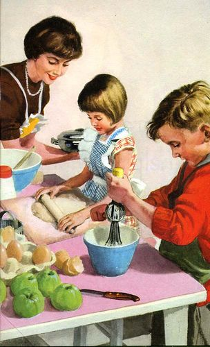'Helping at Home' (Ladybird books series 563) by M E Gagg; illustrated by Harry Wingfield; First Published 1961