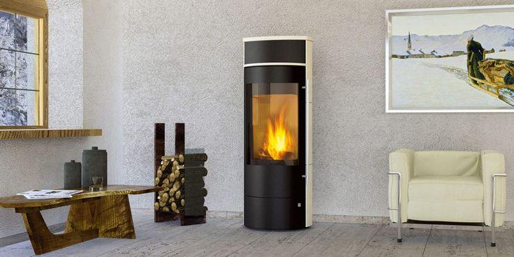 Design-Kamin-Ofen OLSBERG Telica Compact Standkamin Stahlkamin - Dank des Einlegers können Sie hier gut eine Tasse Tee warm halten
