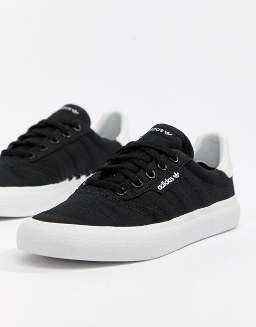 size 40 bcff1 301df adidas Skateboarding 3Mc Sneakers In Black in 2019  B L A C K  W H I T E   Sneakers, Nike shoes outfits, Adidas