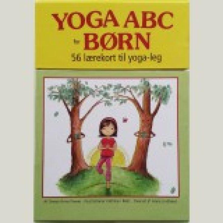 Yogakort - Kortene bringer alle alfabetets bogstaver til live gennem sjove yogastillinger.