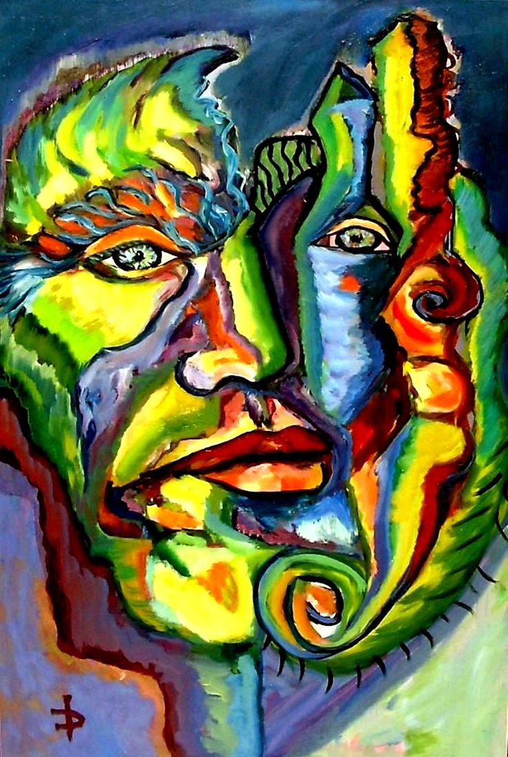 Portrait of A Man  Oil on canvas, 90 x 60 cm; Price: 800 dollars