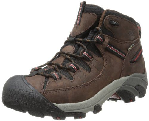 KEEN Men's Targhee II Mid WP Hiking Boot,Chestnut/Bossa M US * Details can  be found by clicking on the image.
