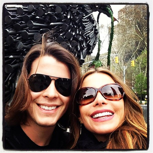 Pin for Later: 10 Cute Pictures of (Hottest Mom Ever) Sofia Vergara With Her Son, Manolo