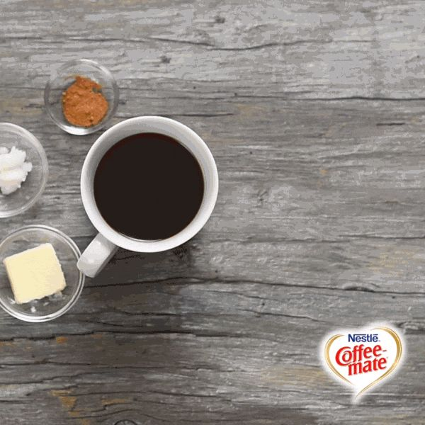 Our Hot Blended Butter Pecan Coffee recipe is sure to stir things up in your house! Transform your everyday and try this delicious recipe for yourself when you visit www.coffeemate.com.