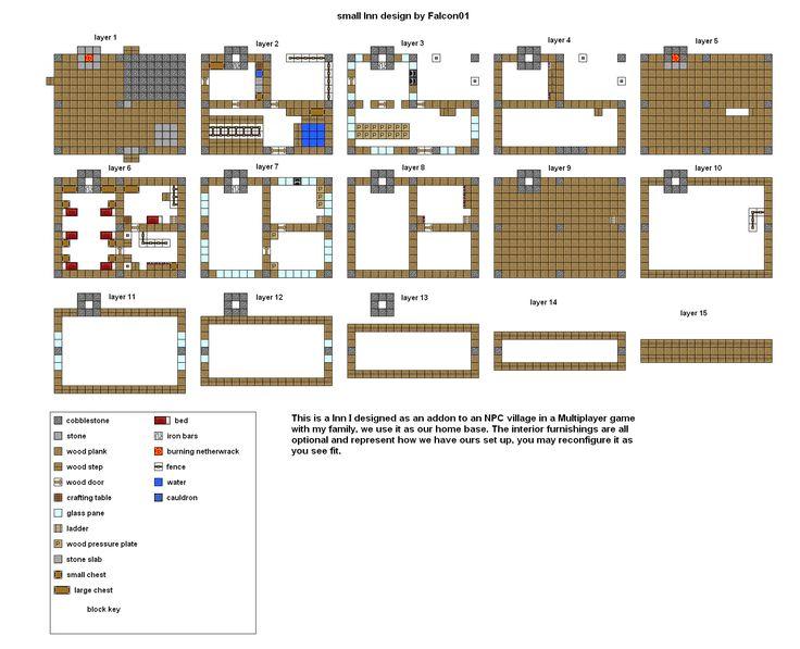 Tremendous 17 Best Ideas About Minecraft Blueprints On Pinterest Minecraft Largest Home Design Picture Inspirations Pitcheantrous