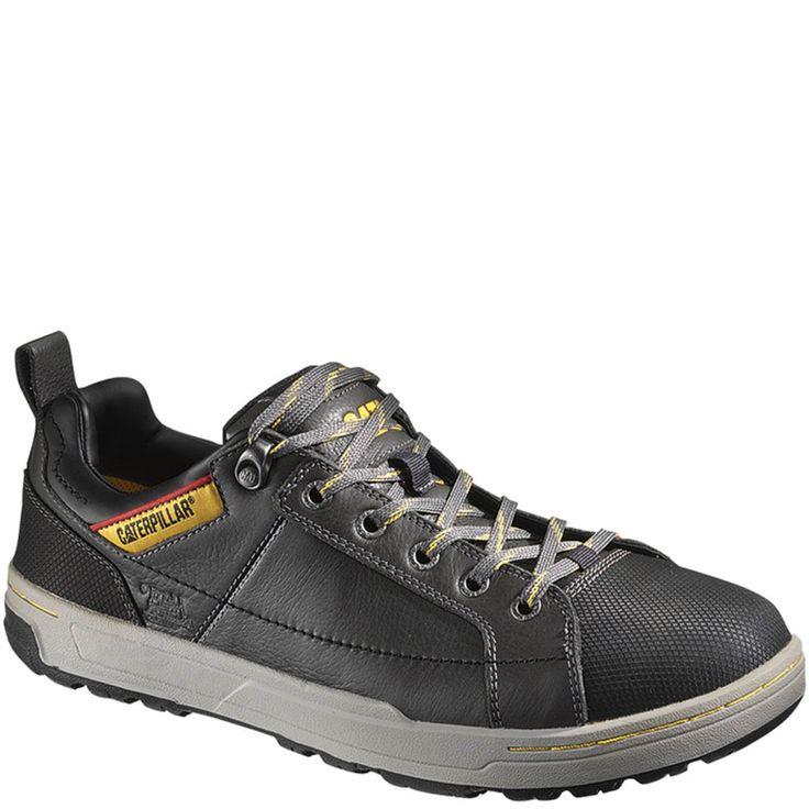 90191 Caterpillar Menu0026#39;s Brode EH Safety Shoes - Pepper | Caterpillar Boots | Pinterest ...