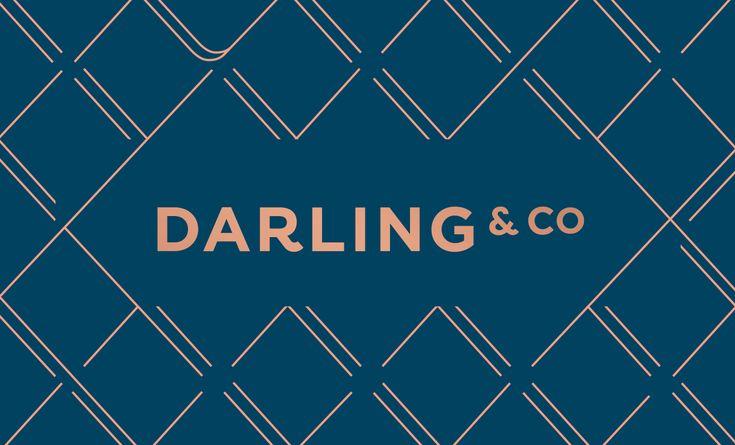 Tony Gooley Design | Darling & Co logotype