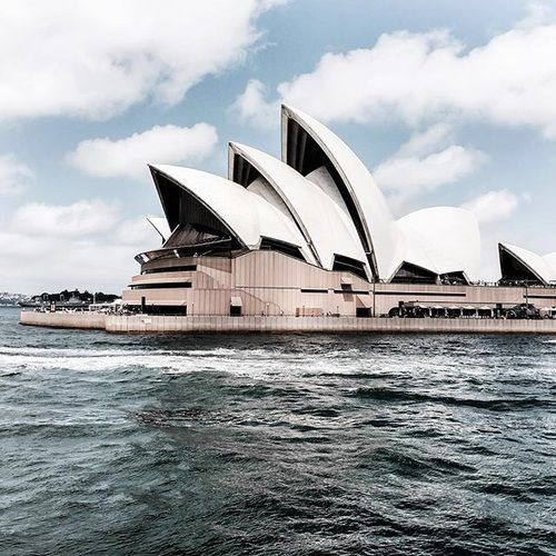 Australia: See an opera at the Sydney Opera House... No worries it'll probably be the only opera we ever see.