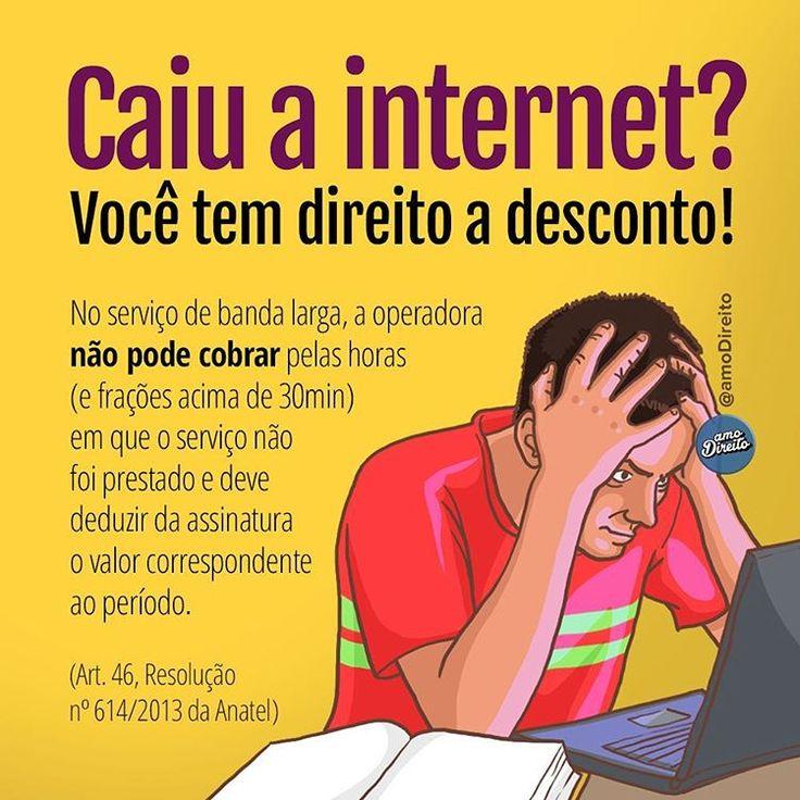 """4,094 curtidas, 166 comentários - amo Direito® (@amodireito) no Instagram: """"✅ COMPARTILHEM TAMBÉM! Caso a interrupção no serviço seja programada, o consumidor deve ser avisado…"""""""
