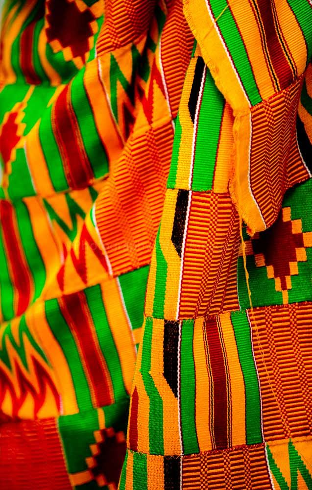 Kente Cloth of Africa these where found in ghana