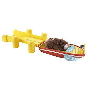 Zhu Zhu Pet Hamster Boat & Dock by ZhuZhu Pets. $5.89. From the Manufacturer Welcome to the world of Cepia's cute and furry robotic hamsters and accessories Product Description Let your Zhu Zhu Pets Hamsters have a taste of life on the high seas, with the Speedboat and Dock Playset. Either use this vehicle playset alone, or attach it to the Zhu Zhu Pets Hamster Funhouse Deluxe Playset to speed your hamster...