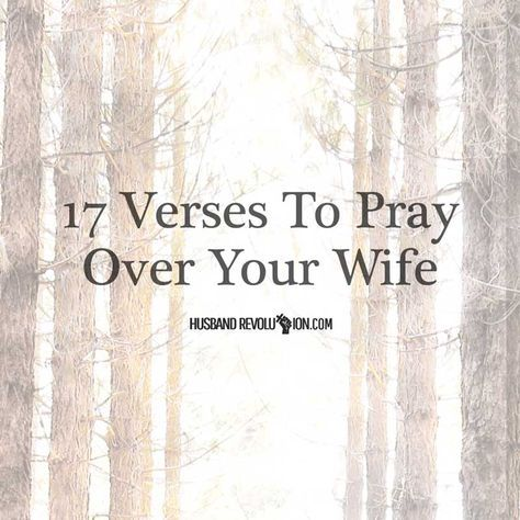 Prayer is an essential part of the believer's life, Or at least it should be and for the Christian husband prayer is essential for a vibrant and thriving m