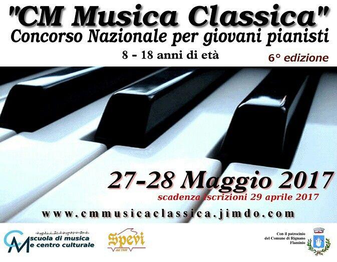Concorso nazionale per giovani pianisti 8-18 anni di età