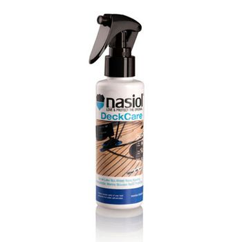 Deckcare is a spray on waterproofing item to shield yacht regular wooden parts from fouling, salt water and harmfull uv rays.